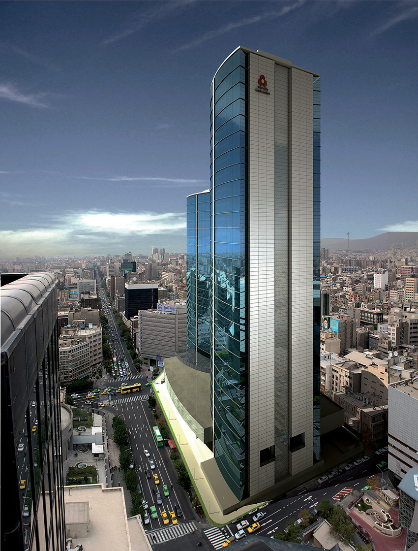Tehran Mellat Bank HQ